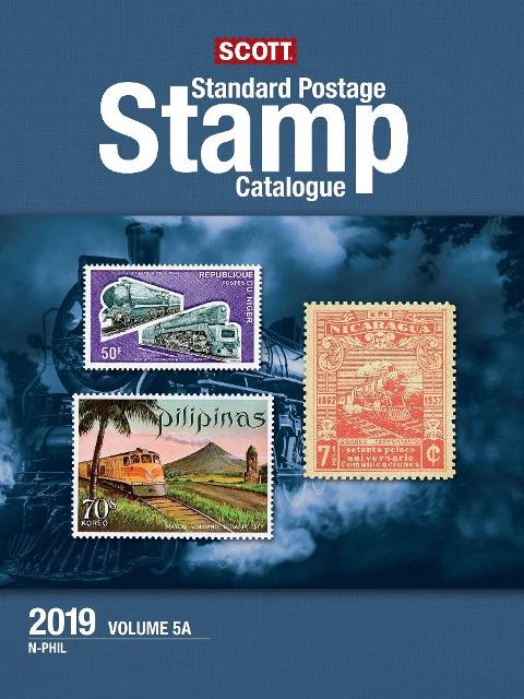 2019 Scott Standard Postage Stamp Catalog Volume 5A N Phil